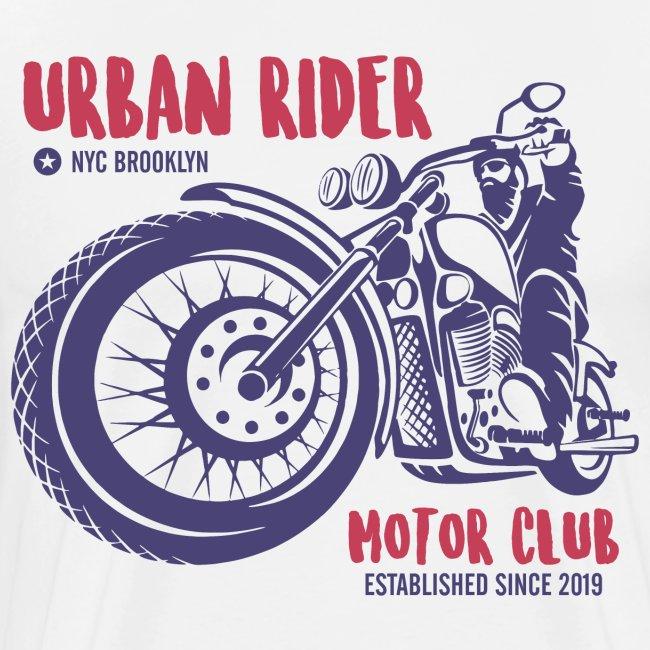 urban rider motorcycle biker
