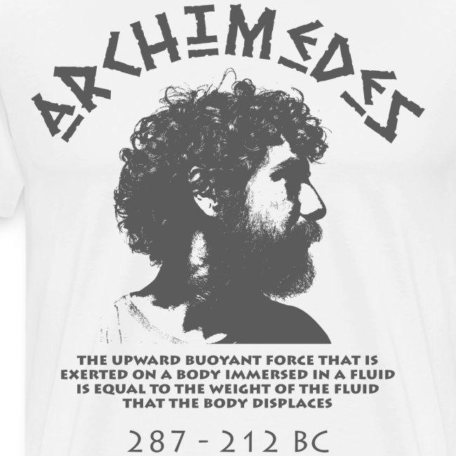 archimedes greek fluid