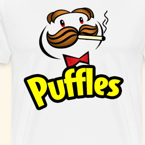 Puffles - Smoking Man - Men's Premium T-Shirt