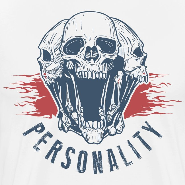 personality yourself skull