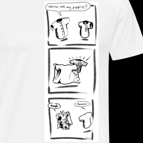 Puppies - Men's Premium T-Shirt