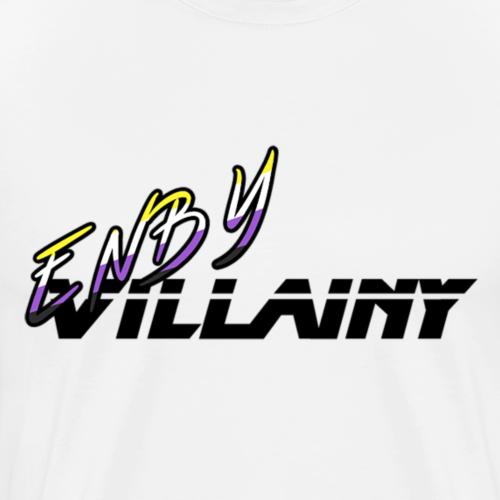 Enby Villainy - Men's Premium T-Shirt