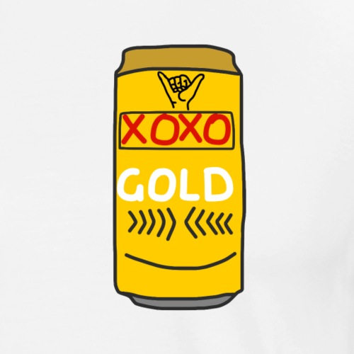 XOXO Gold - Men's Premium T-Shirt