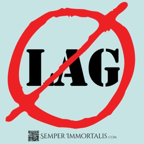 No Lag (black) - Men's Premium T-Shirt