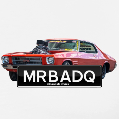 MRBADQ burnout car - Men's Premium T-Shirt