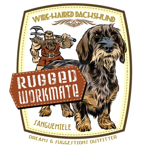 dachshund_rugged_workmate - Men's Premium T-Shirt