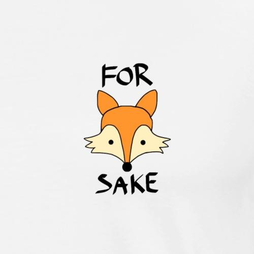 For Fox Sake - Men's Premium T-Shirt