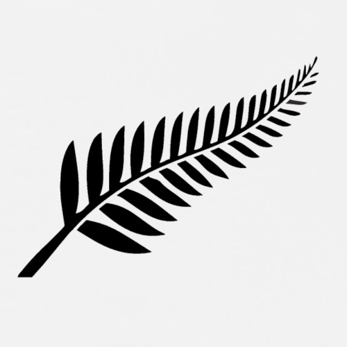 New Zealand Fern - Men's Premium T-Shirt