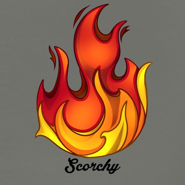 Scorchy Logo Black