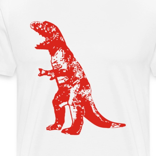 Big Bang Theory - Sheldon Dinosaur T-rex - Men's Premium T-Shirt