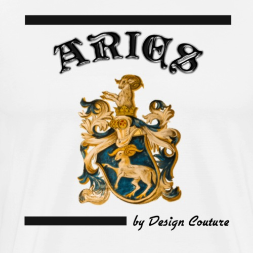 ARIES BLACK - Men's Premium T-Shirt
