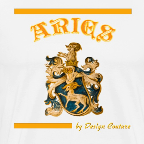 ARIES ORANGE - Men's Premium T-Shirt