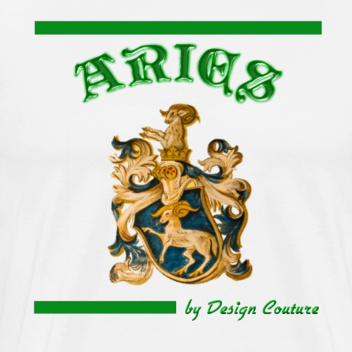 ARIES GREEN - Men's Premium T-Shirt