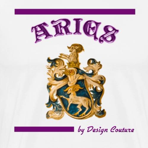 ARIES PURPLE - Men's Premium T-Shirt