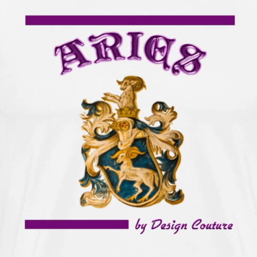 ARIES PURPLE - Men's Premium T-Shirt