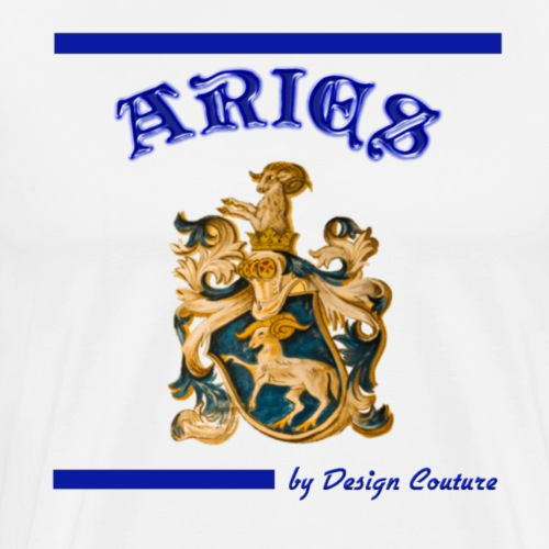 ARIES BLUE - Men's Premium T-Shirt