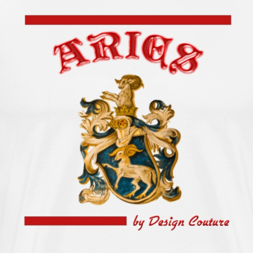 ARIES RED - Men's Premium T-Shirt