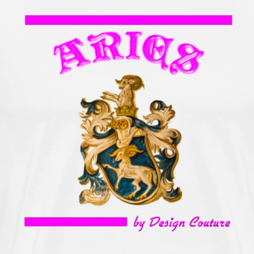 ARIES PINK - Men's Premium T-Shirt
