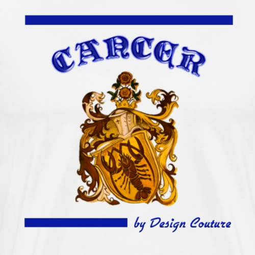 CANCER BLUE - Men's Premium T-Shirt