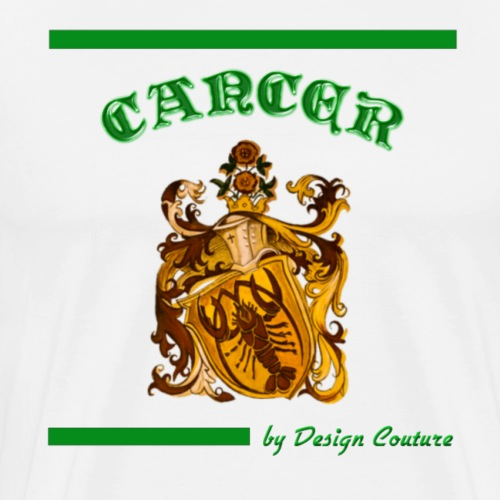 CANCER GREEN - Men's Premium T-Shirt