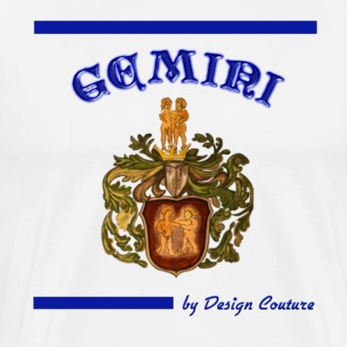 GEMINI BLUE - Men's Premium T-Shirt