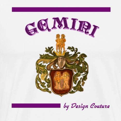 GEMINI PURPLE - Men's Premium T-Shirt
