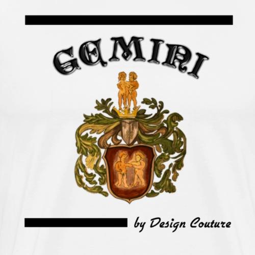 GEMINI BLACK - Men's Premium T-Shirt