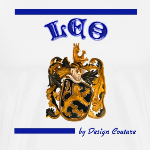 LEO BLUE - Men's Premium T-Shirt