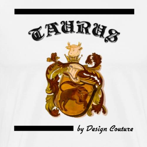TAURUS BLACK - Men's Premium T-Shirt