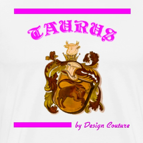 TAURUS PINK - Men's Premium T-Shirt