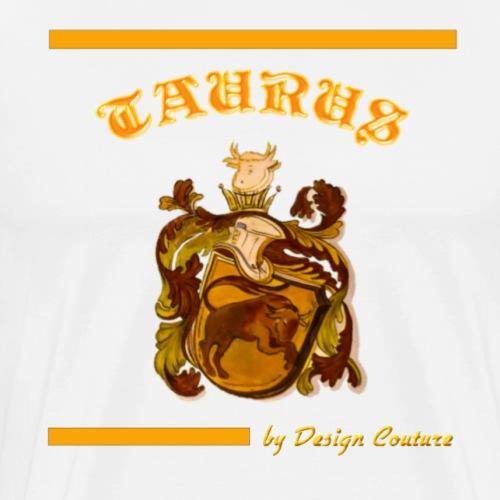TAURUS ORANGE - Men's Premium T-Shirt