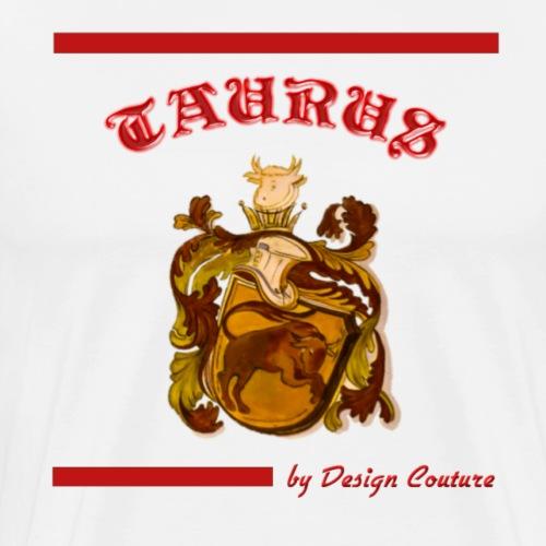 TAURUS RED - Men's Premium T-Shirt