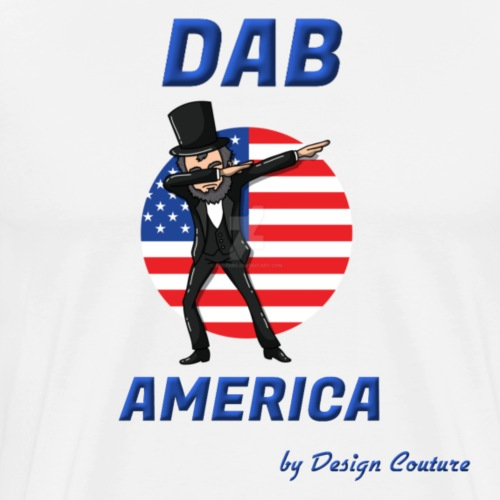 DAB AMERICA BLUE - Men's Premium T-Shirt