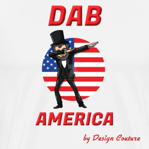 DAB AMERICA RED - Men's Premium T-Shirt