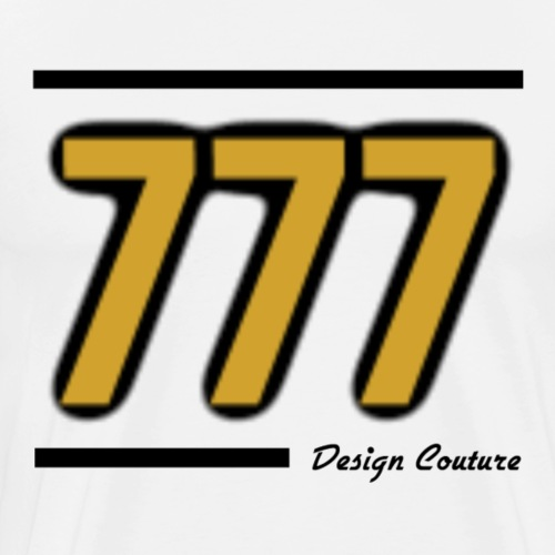 777 GOLD - Men's Premium T-Shirt