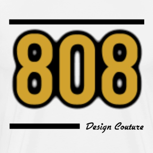 808 GOLD - Men's Premium T-Shirt