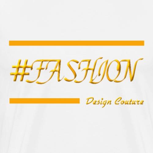 FASHION ORANGE - Men's Premium T-Shirt