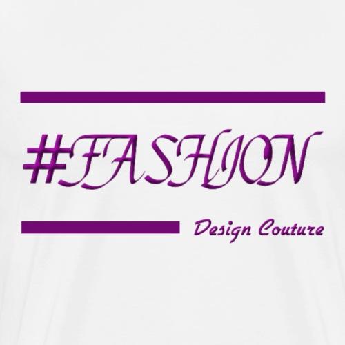 FASHION PURPLE - Men's Premium T-Shirt