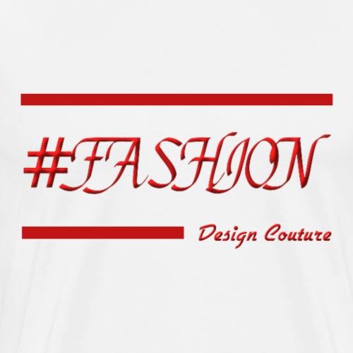FASHION RED - Men's Premium T-Shirt