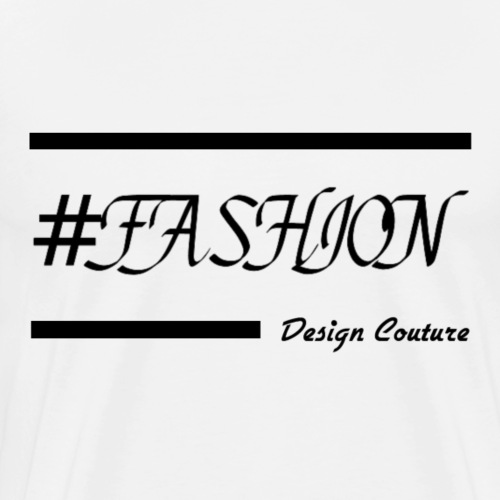 FASHION BLACK - Men's Premium T-Shirt