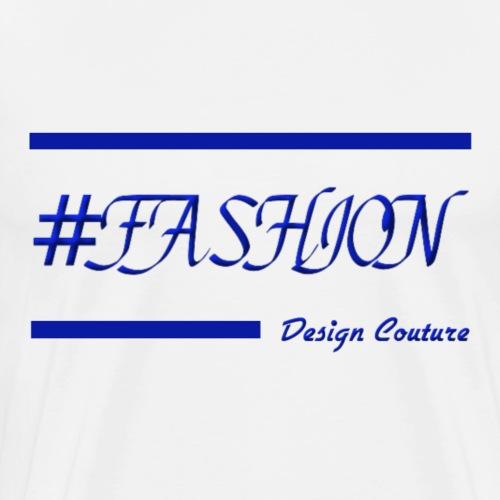 FASHION BLUE - Men's Premium T-Shirt