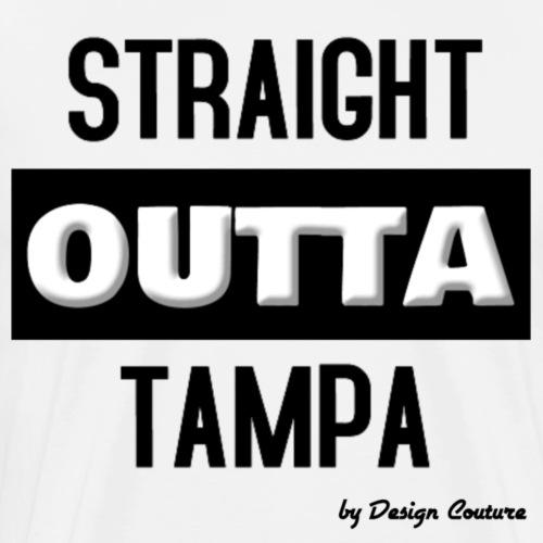 STRAIGHT OUTTA TAMPA BLACK - Men's Premium T-Shirt