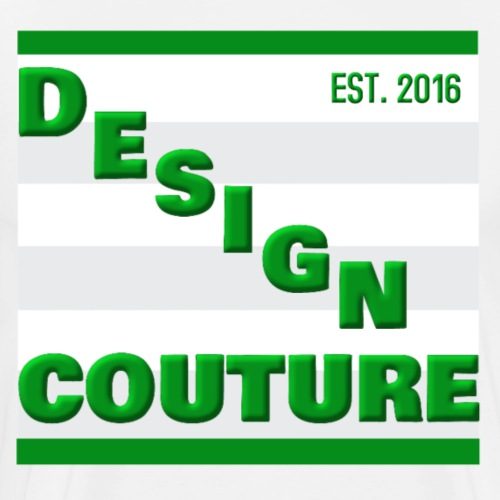 DESIGN COUTURE EST 2016 GREEN - Men's Premium T-Shirt