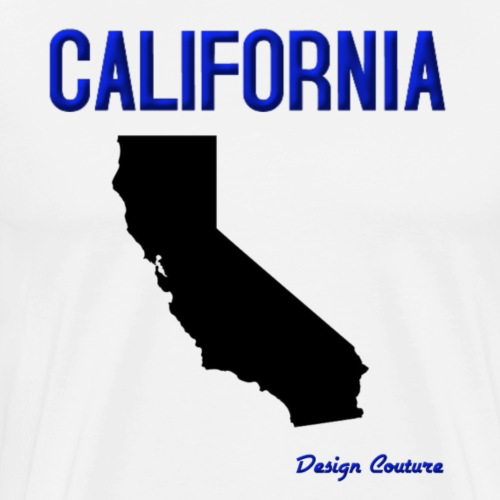 CALIFORNIA BLUE - Men's Premium T-Shirt