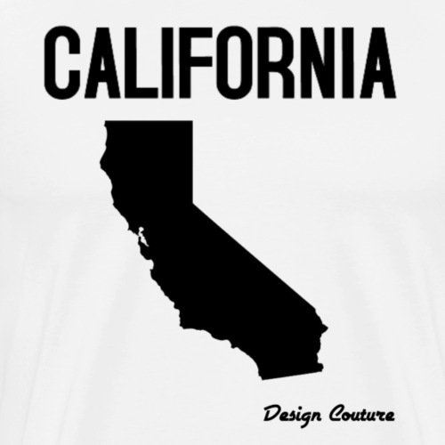 CALIFORNIA BLAC - Men's Premium T-Shirt
