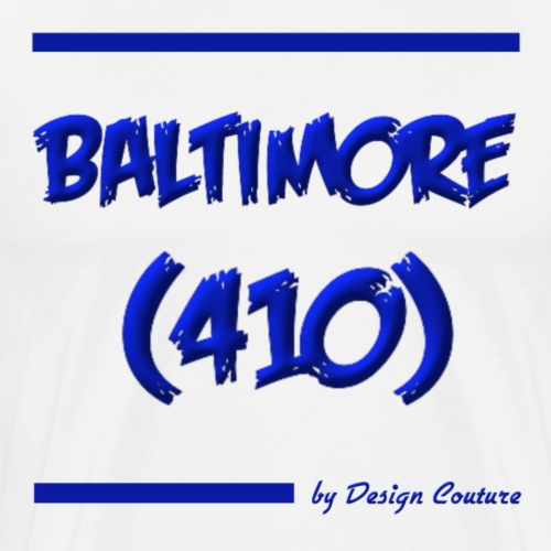 BALTIMORE 410 BLUE - Men's Premium T-Shirt