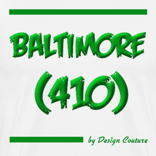BALTIMORE 410 GREEN - Men's Premium T-Shirt