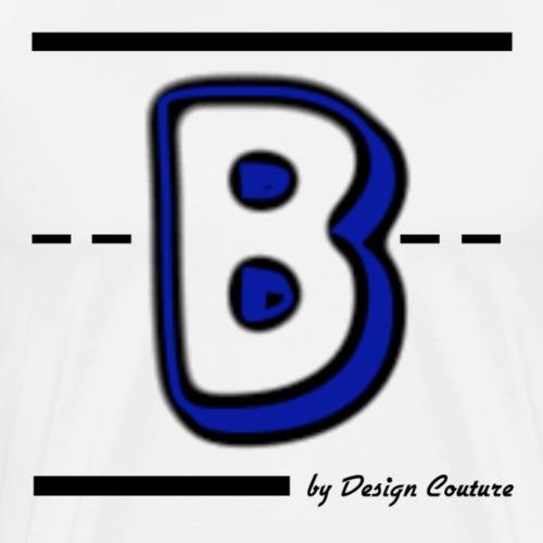 B BLUE - Men's Premium T-Shirt
