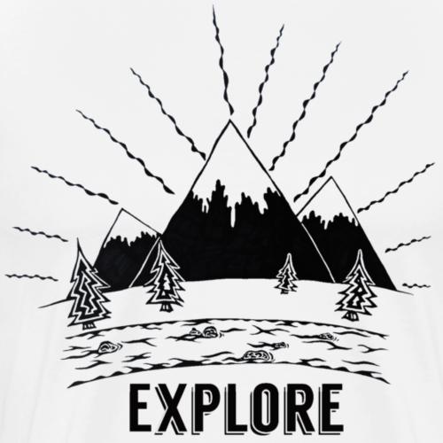 Explore - Men's Premium T-Shirt