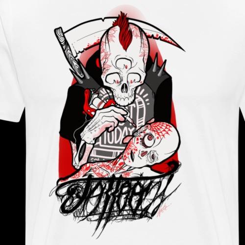 Dead's art - Men's Premium T-Shirt